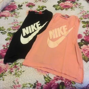Lot of 2! Nike muscle tanks - size S
